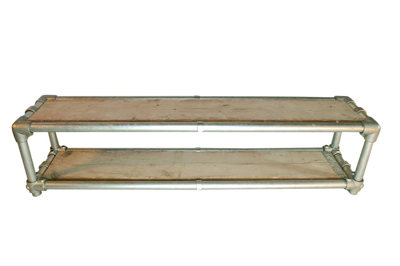 Steigerbuis schoenenrek double wood huisstaal - Darblay en hout ...