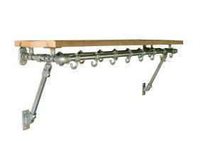 Kapstok-steigerbuis-Elegance-Two-Rows
