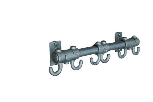 Steigerbuis Kapstok Basic Steel Hooks